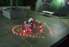 Spomenik Jovanu Dučiću u Trebinju sinoć