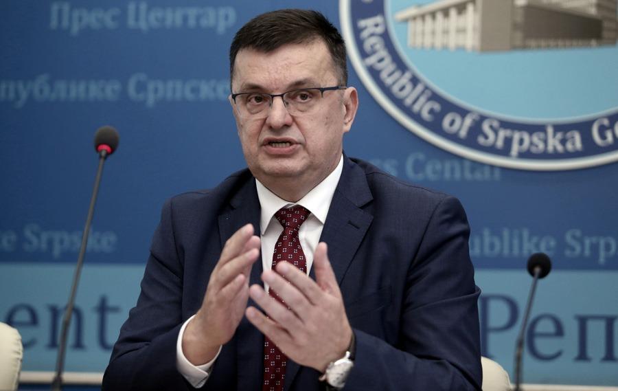 Zoran Tegeltija, ministar finansija
