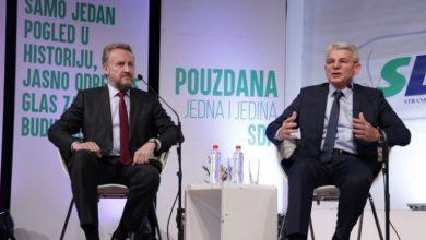 Bakir Izetbegović i Šefik Džaferović