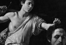 David sa glavom Golijata, Caravaggio, cca 1610.