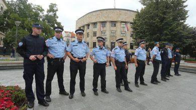 Policijski kordon ispred Palate Predsjednika Republike Srpske / foto: Siniša Pašalić