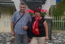 Senaid Išerić sa suprugom