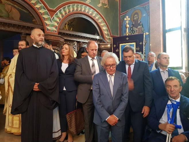 Delegacija Srpske na svečanosti ustoličenja vladike Grigorija