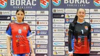 Kristina Bilčar i Dragana Vukosavljević