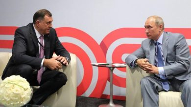 Milorad Dodik i Vladimir Putin