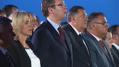 Željka Cvijanović, Aleksandar Vučić, Milorad Dodik i Mladen Ivanić