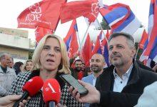 Željka Cvijanović i Igor Radojičić