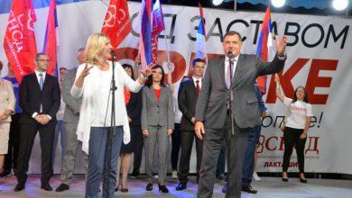 Željka Cvijanović i Milorad Dodik
