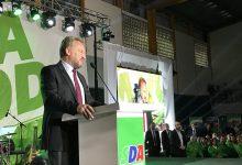 Bakir Izetbegović na predizbornom skupu u Mostaru