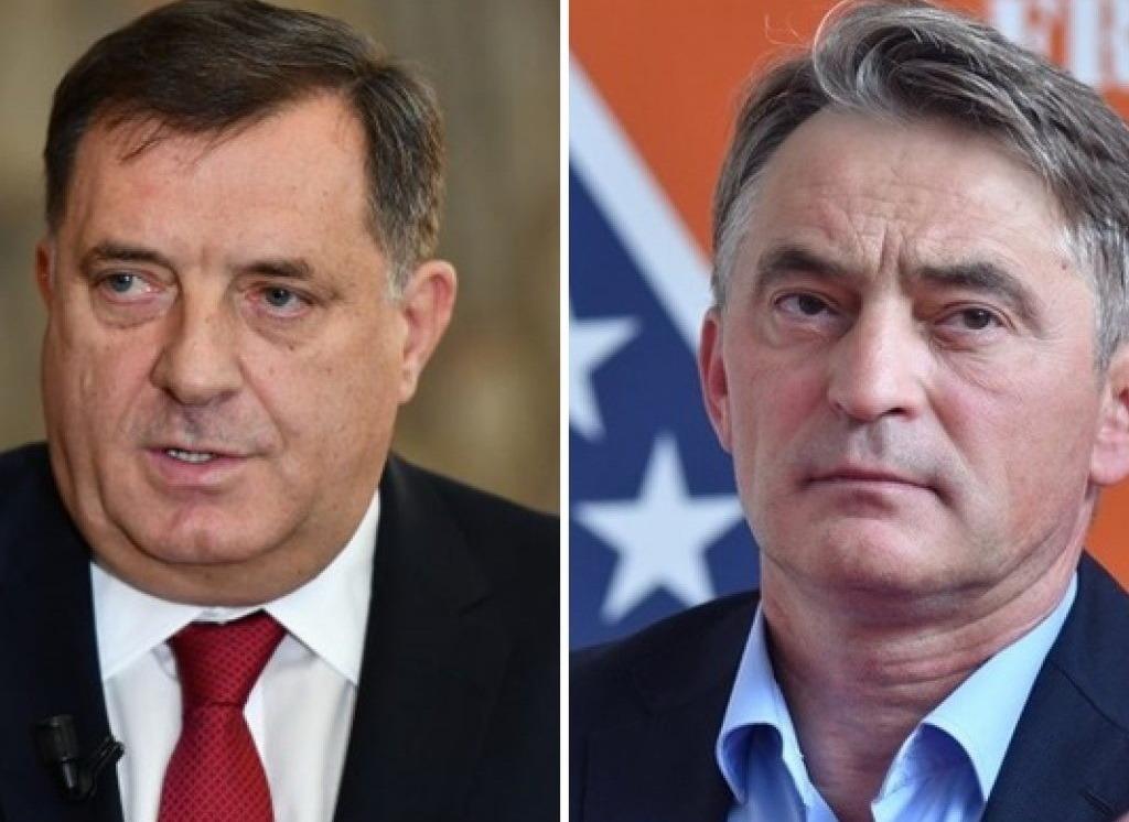 Milorad Dodik i Željko Komšić