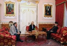 Milorad Dodik, Željka Cvijanović i vladika Jefrem