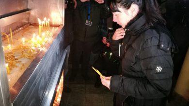 Suzana Radanović kod hrama Hrista Spasitelja