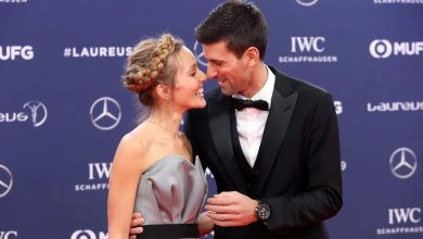 Novak i Jelena Đoković prije svečane dodjele nagrade