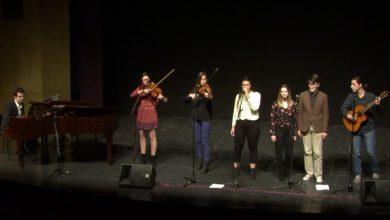 S humanitarnog koncerta u Prijedoru: Nastup članova grupe The Bachs