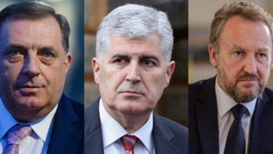 Milorad Dodik, Dragan Čović i Bakir Izetbegović