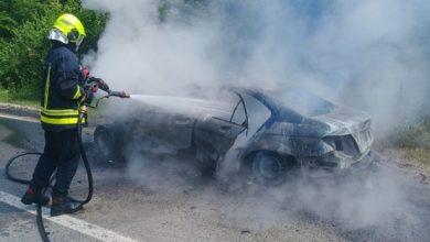 Izgorio automobil u Borkovićima kod Banjaluke