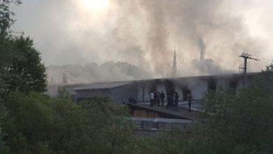 Uzrok požara električni rešo: Povećan broj povrijeđenih migranata